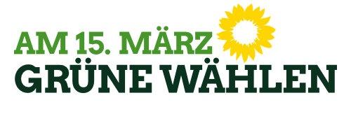 am 15. März - die Grünen wählen