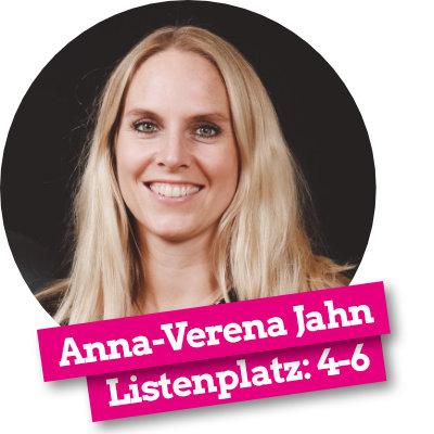 Anna-Verena Jahn - Listenplatz 4-6