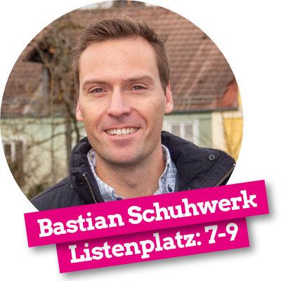 Bastian Schuhwerk - Listenplatz 7-9