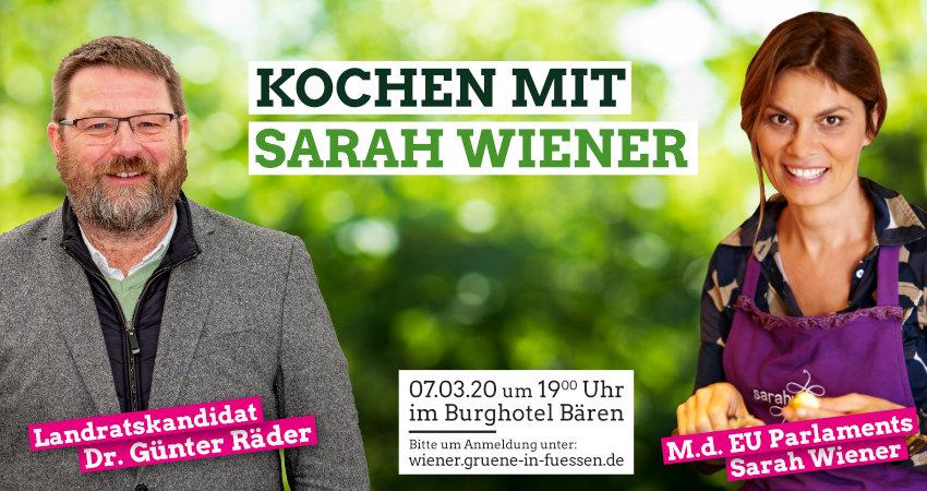 Günter räder kocht mit Sarah Wiener