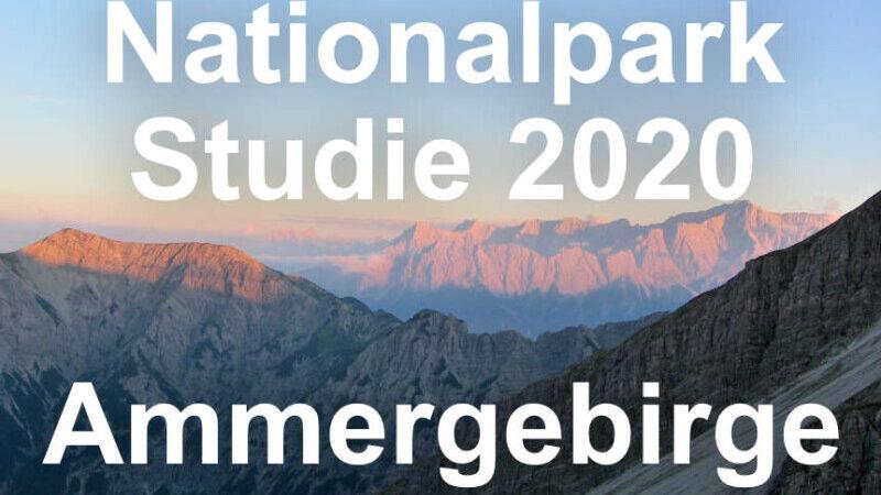 Nationalpark Studie Ammergebirge - 2020
