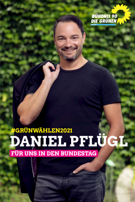 Unser Bundestagskandidat Daniel Pflügl